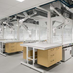 Aurum-rakennuksen laboratorio