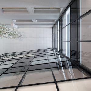 Mikkelin Perhetalon aulan kattoa