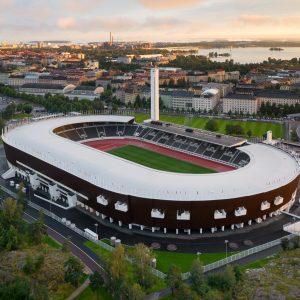 Helsingin Olympiastadion ilmakuva