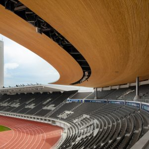 Olympiastadion A-katsomo ja torni