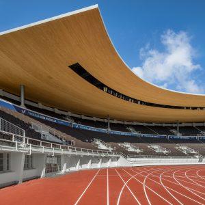 Olympiastadion uusi katto ja katsomot