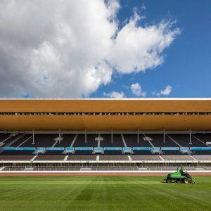 Helsingin Olympiastadion nurmikenttä