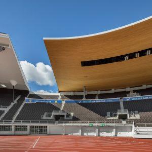 Olympiastadionin uusi katto