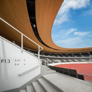 Helsingin Olympiastadion sisäänkäynti