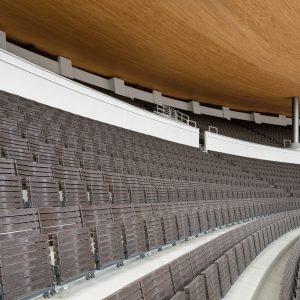 Olympiastadionin uudet penkit