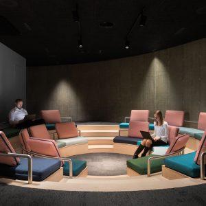 Innovaatio- ja Vierailukeskus Joki Amfiteatteri